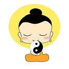 Little Yogi Yin Yang by FRANKEY CRAIG