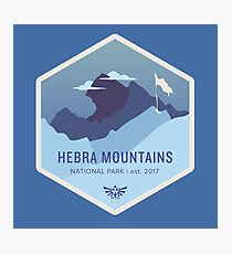 Hebra Mountains National Park Photographic Print