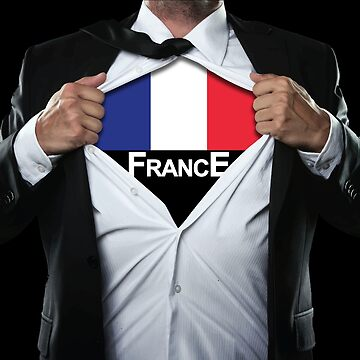 Men's France World Cup Super Hero by RLVantagePoint
