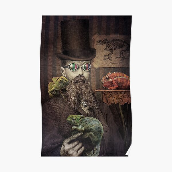 The Chameleon Collector Poster