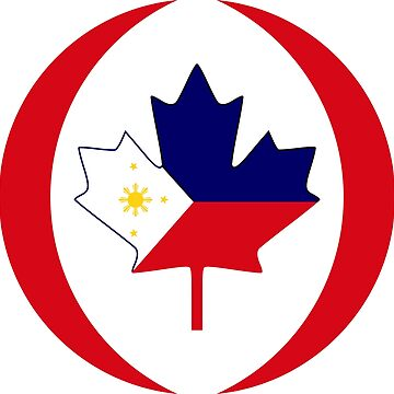 Filipino Canadian Multinational Patriot Flag Series by carbonfibreme