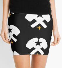 Hammers and Stars Mini Skirt