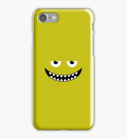 Green Smile iPhone Case/Skin