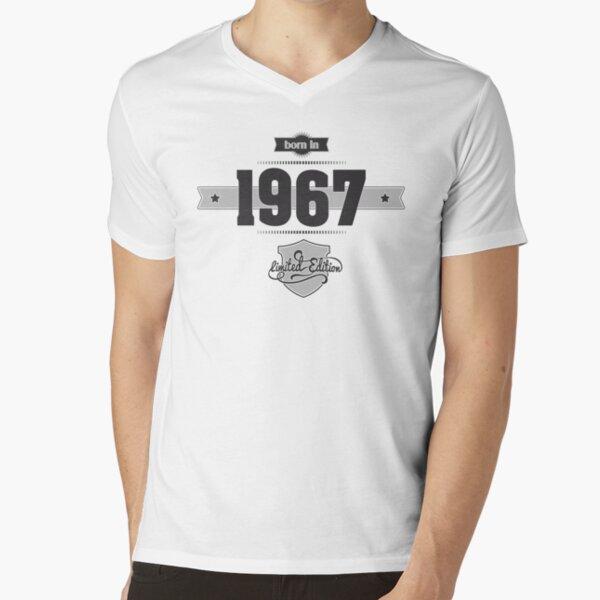 Geburtstag T-Shirt mit V-Ausschnitt