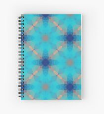 color geometric purple seamless colorful repeat pattern Spiral Notebook