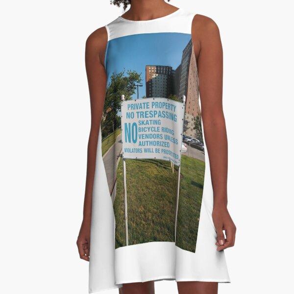New York City, #NewYork, #City, #NewYorkCity A-Line Dress