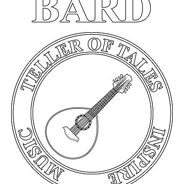 Bard RPG Fantasy Class Lute by WarlordApparel