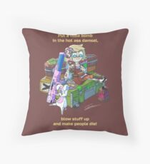 Tiny Tina fan art  Throw Pillow
