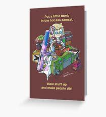 Tiny Tina fan art  Greeting Card