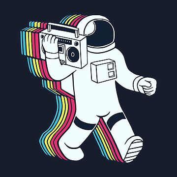 Funky Spaceman by realmatdesign