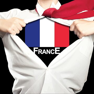Womens's France World Cup Super Hero by RLVantagePoint
