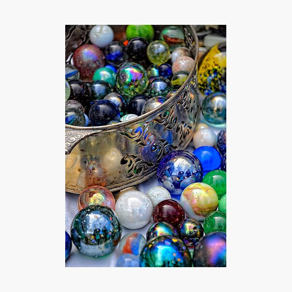 I've lost my Marbles............. : ) Photographic Print