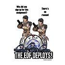 Earth Defense Force Ranger talk by dubukat
