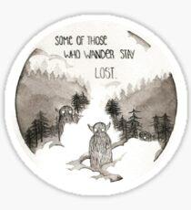 Lost Wanderers Sticker