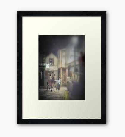 Hansom Framed Print