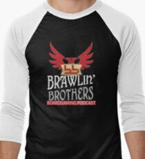 Brawling Brothers Design 1 Men's Baseball ¾ T-Shirt