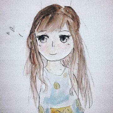 Anime Girl by ArtofSining