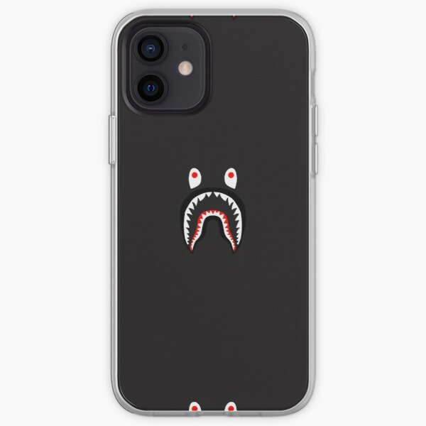 bape hypebeast logo iPhone Soft Case