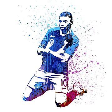 World cup art #france #3 by artpopop
