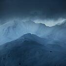 Snowy peaks by Patrice Mestari