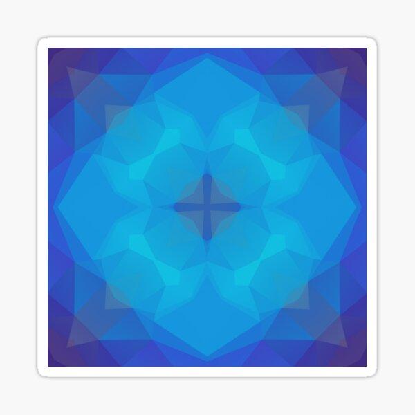 Farbpolygon-Rosa-Flieder nahtloses buntes Wiederholungsmuster Sticker