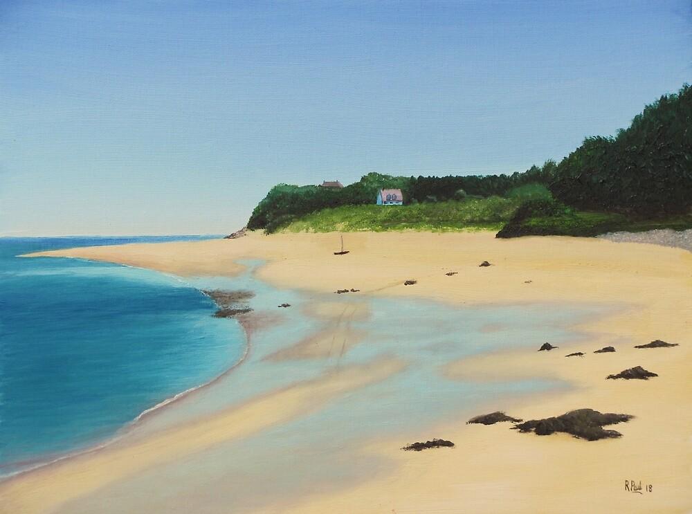 Caldey Island by Richard Paul