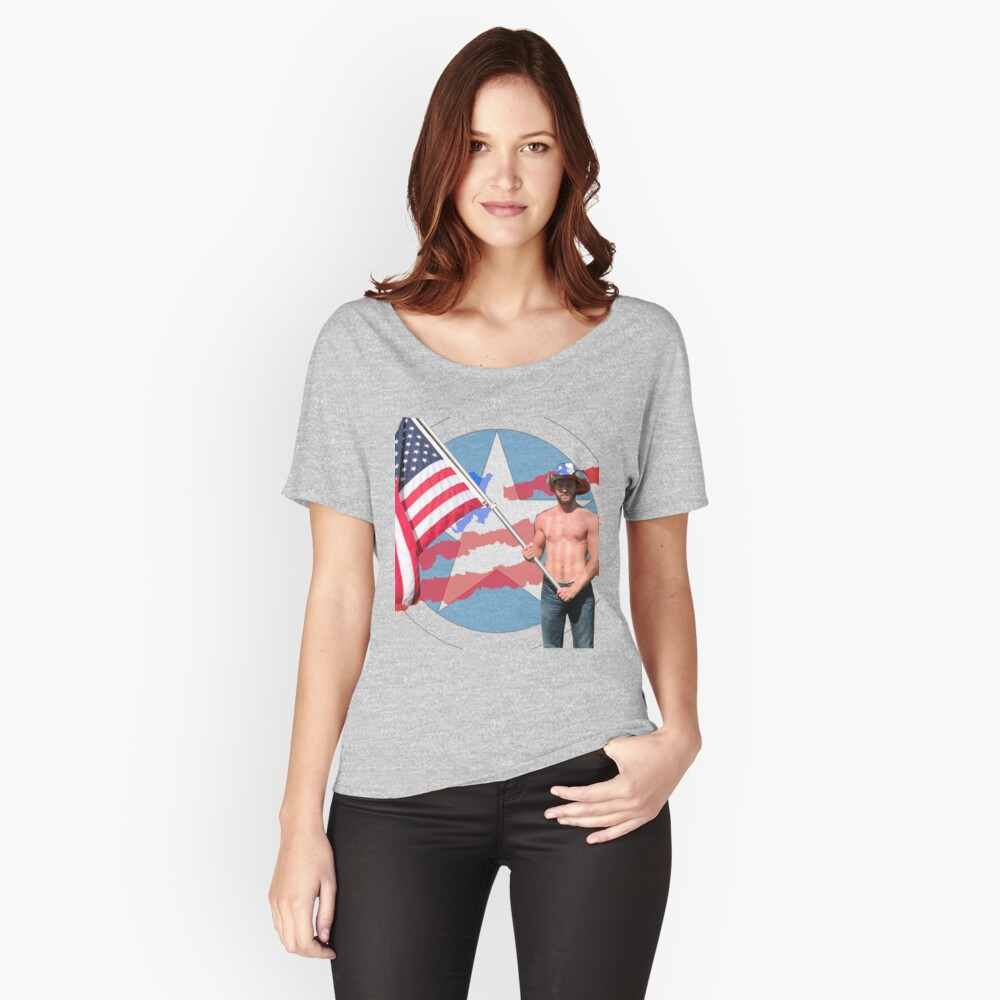 Merica Women's Relaxed Fit T-Shirt Front
