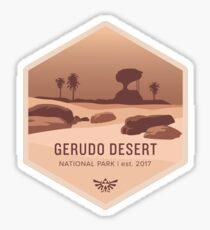 Gerudo Desert National Park Sticker
