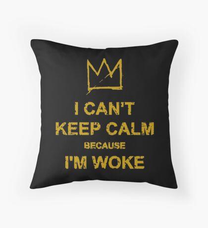 I Can't Keep Calm Throw Pillow
