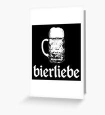 beer love Greeting Card
