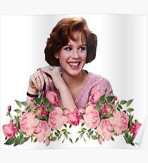 Molly Ringwald Blumen Poster