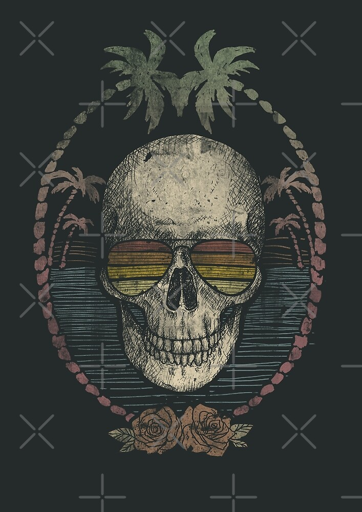 Palm Skull by mikekoubou