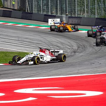 Formula 1 racing by SpeedKing