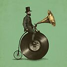 Music Man (green colour option) by Eric Fan