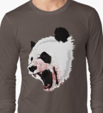 Panda Ladies Long Sleeve T-Shirt