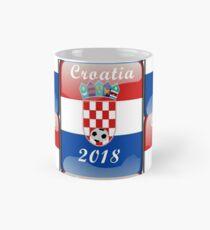 Croatia Soccer shirt Team Russia 2018 TShirt Football Mug
