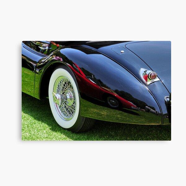 Classic Car Reflection Canvas Print
