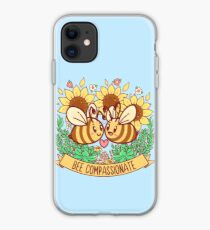 Bee Compassionate - Save the Bees iPhone Case