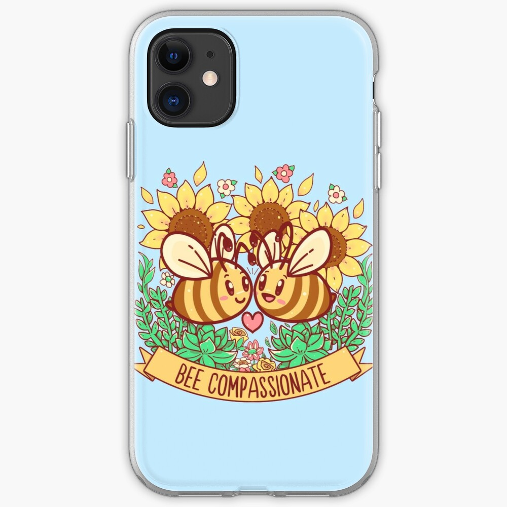 Bee Compassionate - Save the Bees iPhone Case & Cover