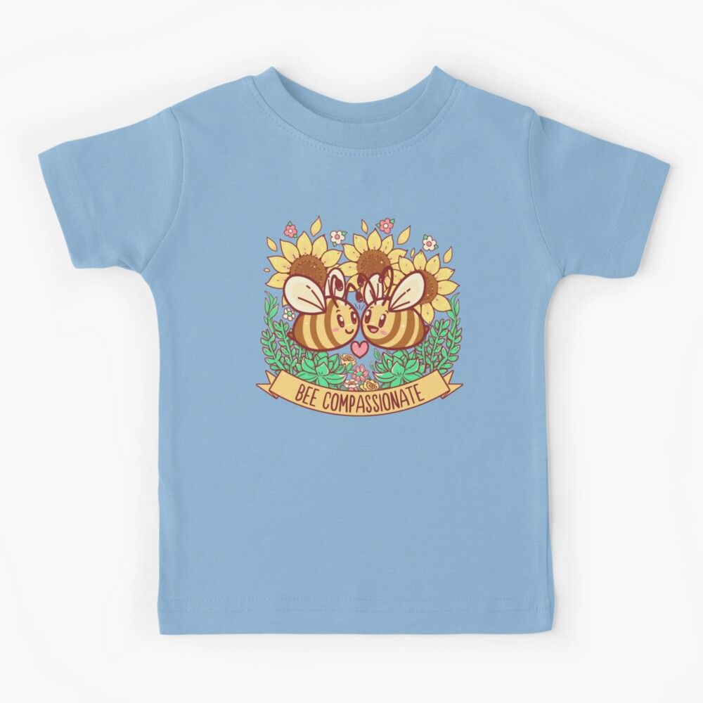 Bee Compassionate - Save the Bees Kids T-Shirt