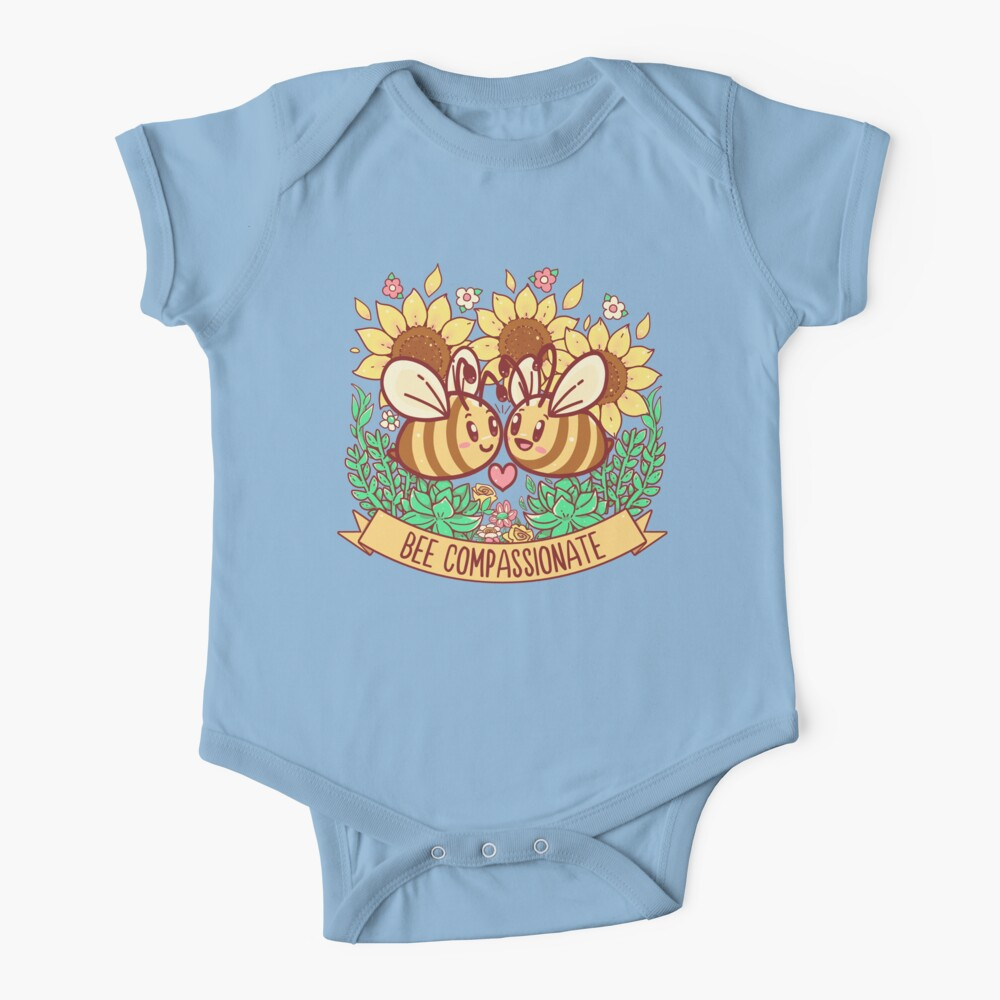 Bee Compassionate - Save the Bees Baby One-Piece