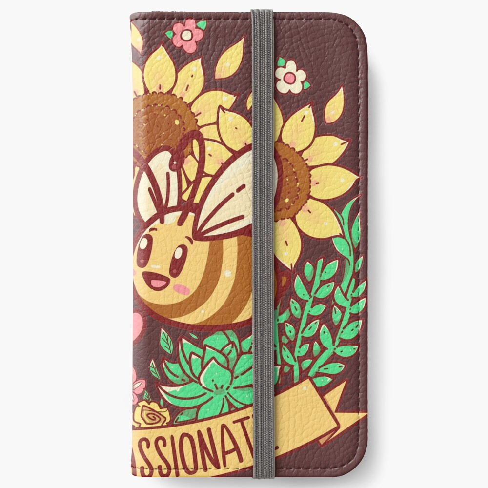 Bee Compassionate - Save the Bees iPhone Wallet