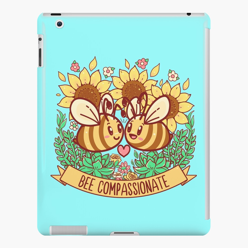 Bee Compassionate - Save the Bees iPad Case & Skin