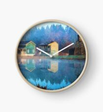 Reflections Of Hope - Hope Valley Art Clock