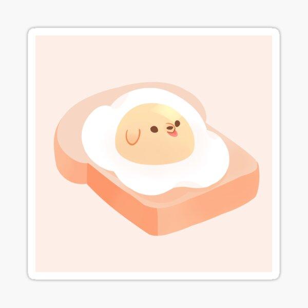 Eggo Sticker