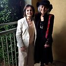 Joyce and Alice in Prescott AZ by Wayne King