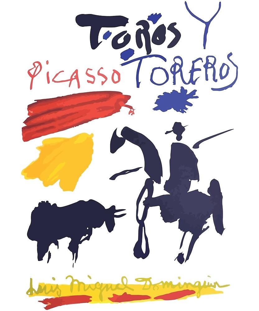 pablo picasso toros y toreros bulls and bullfighters