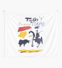 Toros Y Toreros (Bulls and Bullfighters) Artwork By Pablo Picasso T Shirt, Book Cover Wall Tapestry
