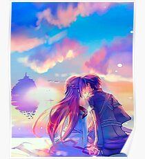 Kirito + Asuna (SAO) Poster