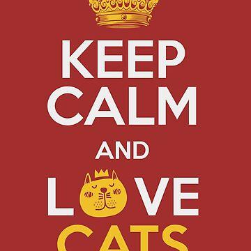Cat Kitten - Keep calm, dear cats by Be-Sign